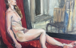Alexandra|PinturadeJaelius Aguirre| Compra arte en Flecha.es