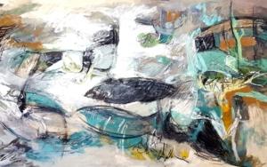 EL TIEMPO DE ELEKTRA|PinturadeSargam| Compra arte en Flecha.es