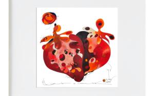 Maduixa - Fresa|Ilustraciónderichard martin| Compra arte en Flecha.es