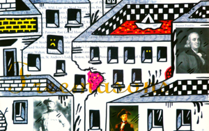 ROOSEVELT AND FRANKLIN ST. (FREEMASON CITY) DibujodeVicente Aguado  Compra arte en Flecha.es
