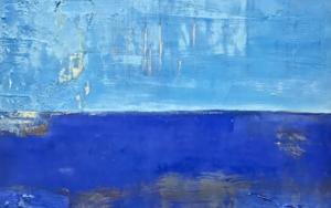 Cielos y Mars III|PinturadeAgnès Rodon| Compra arte en Flecha.es