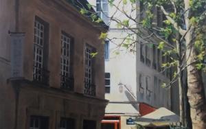 Paris- frente al Sena PinturadeCarmen Nieto  Compra arte en Flecha.es