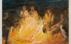 The Crossing III|PinturadeEliana Perinat| Compra arte en Flecha.es