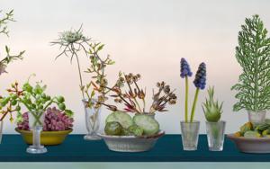 Bodegón mesa azul|FotografíadeLeticia Felgueroso| Compra arte en Flecha.es