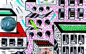FABRIC APRON ST. (FREEMASON CITY)|DibujodeVicente Aguado| Compra arte en Flecha.es