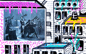 APPRENTICE INITIATION ST. (FREEMASON CITY)|DibujodeVicente Aguado| Compra arte en Flecha.es