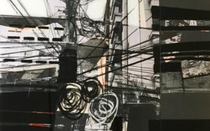 WIRES b&w|CollagedeErika Nolte| Compra arte en Flecha.es