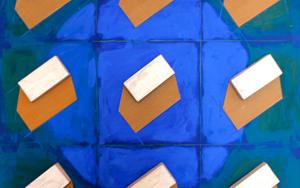 Casas|CollagedeAna Pellón| Compra arte en Flecha.es