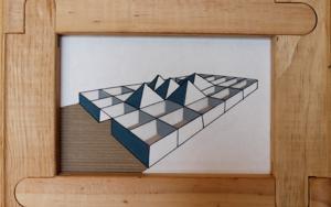 Pirámides|CollagedeAna Pellón| Compra arte en Flecha.es