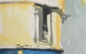 Toldos azules PinturadeIñigo Lizarraga  Compra arte en Flecha.es
