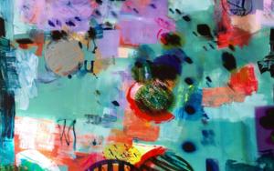 KISSING CIRCLES|PinturadeErika Nolte| Compra arte en Flecha.es