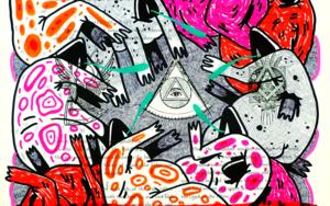 THE ILLUSTRIOUS DEGENERATION III DibujodeVicente Aguado  Compra arte en Flecha.es