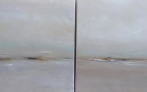 "Díptico ""Cuando todo vuelve a empezar""|PinturadeEsther Porta| Compra arte en Flecha.es"