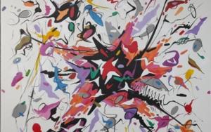 Close to my fire|PinturadeValeriano Cortázar| Compra arte en Flecha.es