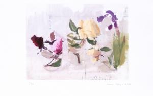 Rosas de Año Nuevo Obra gráficadeAntonio López  Compra arte en Flecha.es