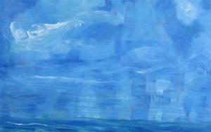 Sun Cloud Miami|PinturadeVerónica Alonso de los Ríos| Compra arte en Flecha.es