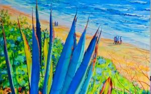 Santa Catalina|PinturadeMaite Rodriguez| Compra arte en Flecha.es