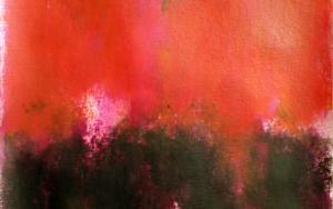 Orange field|PinturadeLuis Medina| Compra arte en Flecha.es