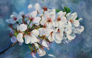 Sakura|PinturadeJavier Ramos Julián| Compra arte en Flecha.es