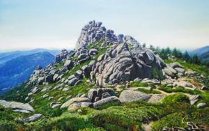 El Tercer Pico|PinturadeJavier Ramos Julián| Compra arte en Flecha.es