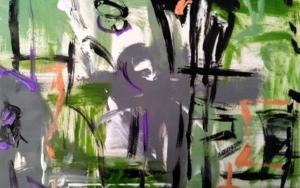 Geometría abstracta 07|PinturadeManuel Berbel| Compra arte en Flecha.es