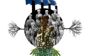 Agujero negro nº 20|CollagedeGabriel Aranguren| Compra arte en Flecha.es