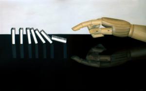 Efecto dominó|PinturadeSoraya Güell| Compra arte en Flecha.es