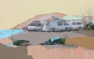 Surfing day III|CollagedeEduardo Query| Compra arte en Flecha.es