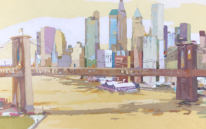 New York New York IV|PinturadeJavier AOIZ ORDUNA| Compra arte en Flecha.es