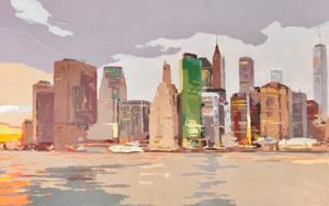 New York New York V|PinturadeJavier AOIZ ORDUNA| Compra arte en Flecha.es