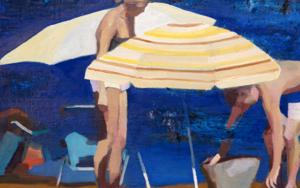 Sombrillas|PinturadeCarmen Montero| Compra arte en Flecha.es