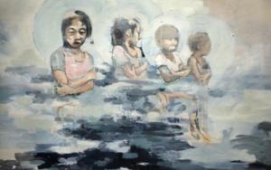 'In Blue'|DibujodeVera Edwards| Compra arte en Flecha.es