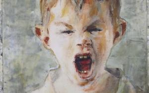 Un grito en la infancia PinturadeGonzho  Compra arte en Flecha.es