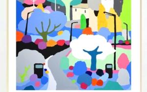 No importa que sea gris|PinturadeALEJOS| Compra arte en Flecha.es