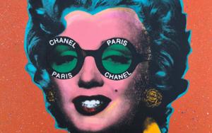 Marilyn Chanel No. 3|PinturadeSilvio Alino| Compra arte en Flecha.es