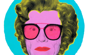 Superstar  Andy Warhol  (Pink-Fluorescent)|PinturadeSilvio Alino| Compra arte en Flecha.es