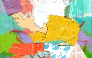 GARDEN  03 PinturadeMarta Aguirre  Compra arte en Flecha.es