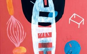 Puentes entre lo orgánico y lo geométrico|PinturadeÁngel Celada| Compra arte en Flecha.es