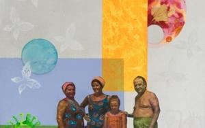 Verano|CollagedeOlga Moreno Maza| Compra arte en Flecha.es