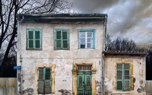 Lone building  27  :  Nicosia, Cyprus|FotografíadeAndy Sotiriou| Compra arte en Flecha.es