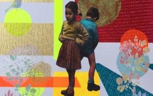 No  nos ven|CollagedeOlga Moreno Maza| Compra arte en Flecha.es