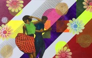 Bailan|CollagedeOlga Moreno Maza| Compra arte en Flecha.es