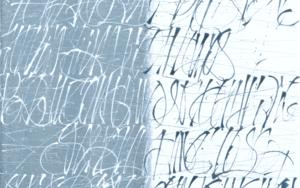 Dualidad en azul|PinturadeJorge Regueira| Compra arte en Flecha.es