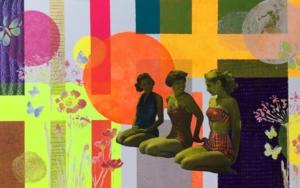 Tres CollagedeOlga Moreno Maza  Compra arte en Flecha.es
