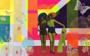 El albornoz|CollagedeOlga Moreno Maza| Compra arte en Flecha.es