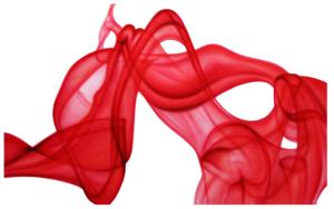 Red Smoke|PinturadeNASEL| Compra arte en Flecha.es