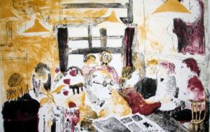 Cafe Roy|Obra gráficadeJenifer Carey| Compra arte en Flecha.es