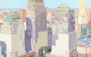 World Trade Center II|PinturadeJavier AOIZ ORDUNA| Compra arte en Flecha.es
