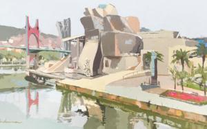 Guggenheim Bilbao I|PinturadeJavier AOIZ ORDUNA| Compra arte en Flecha.es