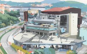 Euskalduna Bilbao II|PinturadeJavier AOIZ ORDUNA| Compra arte en Flecha.es